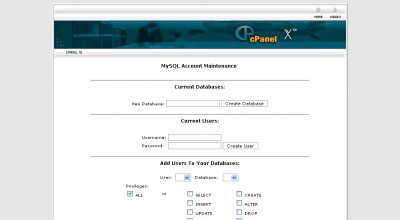 MySQL Account Maintenance